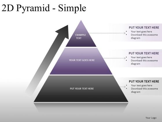 Finance 2d Pyramid Simple PowerPoint Slides And Ppt Diagram Templates