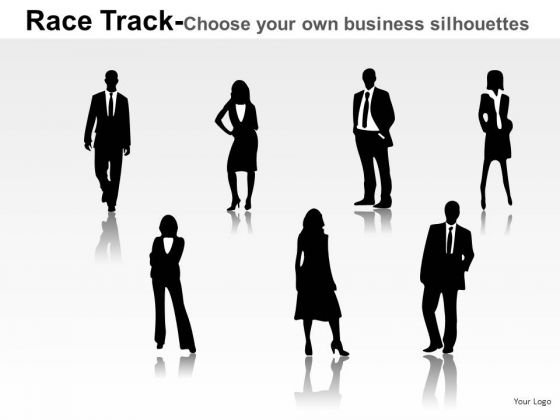 Finance Race Person Running PowerPoint Slides And Ppt Diagram Templates