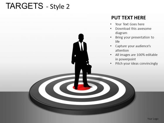 Finance Targets 2 PowerPoint Slides And Ppt Diagram Templates