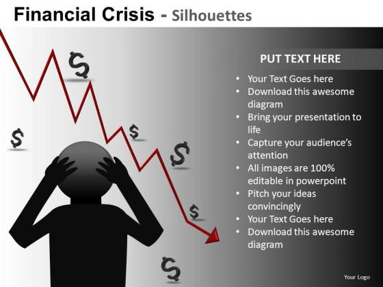 Financial Crisis Depression Ppt 2 - PowerPoint Templates
