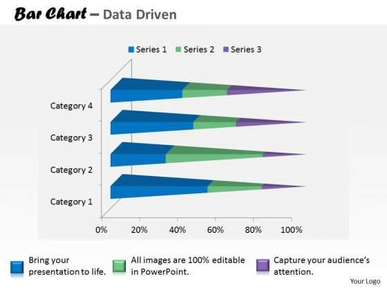 Financial Data Analysis Currency Trading Bar Chart PowerPoint Templates