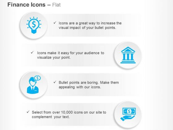 Financial Idea Generation Banking Solutions Ppt Slides Graphics
