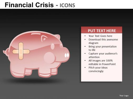 Financial Savings PowerPoint Templates
