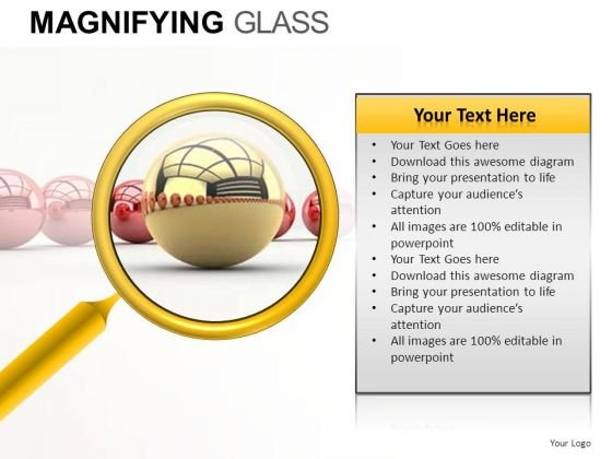 Find Winner Magnifying Glass PowerPoint Slides And Ppt Diagram Templates