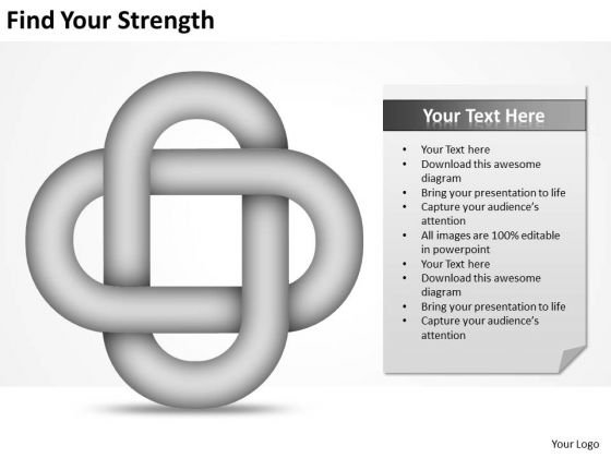 Find Your Strength Ppt A Business Plan Template PowerPoint Templates