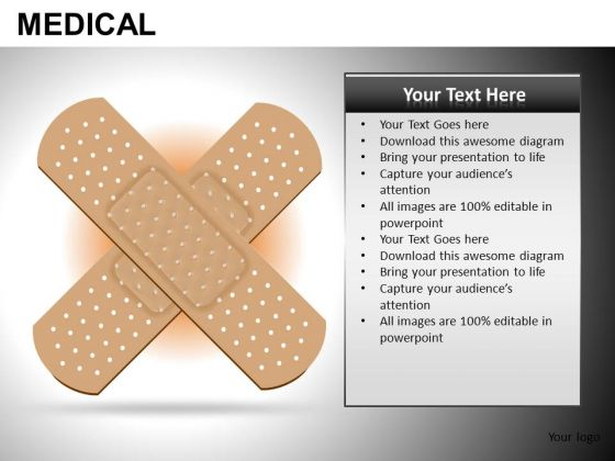 First Aid PowerPoint Templates Band Aid Ppt Slides