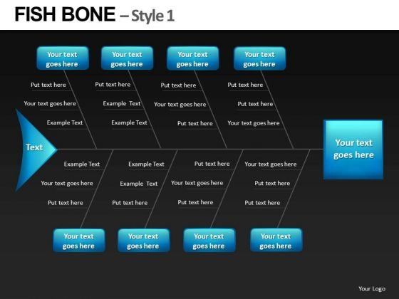 Fishbone Diagram PowerPoint Slides