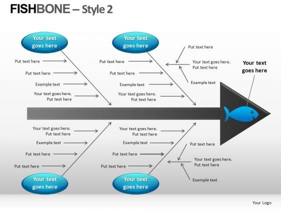Fishbone Diagram Templates For Powerpoint Ppt  Powerpoint Templates