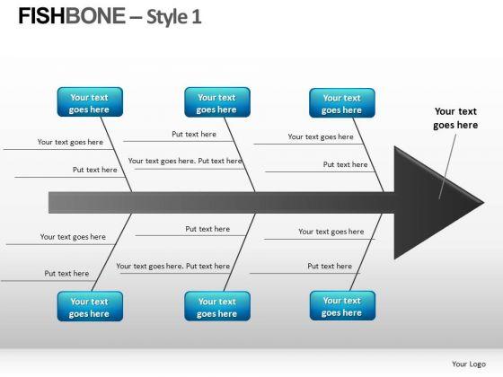 Fishbone Diagrams PowerPoint Slides