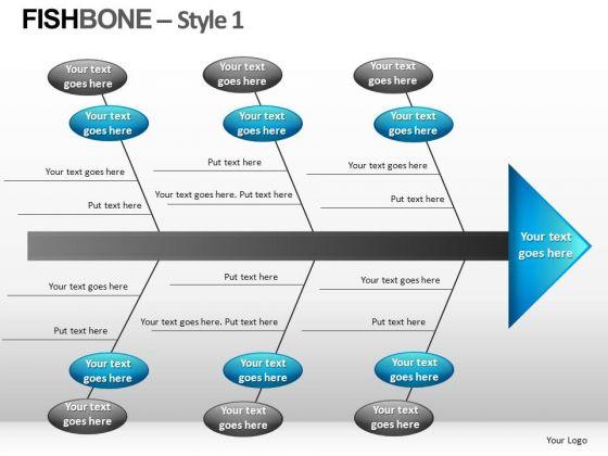 Fishbone Style 1 Ppt 10