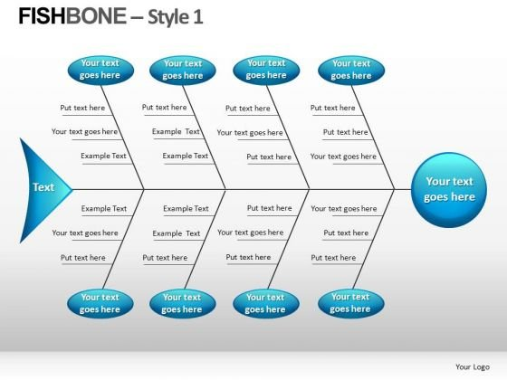 Fishbone Style 1 Ppt 11