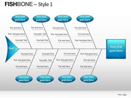 Fishbone Style 1 Ppt 12