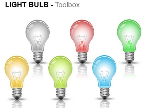 Flament Glass Light Bulb PowerPoint Slides And Ppt Diagram Templates