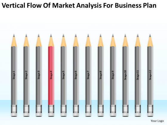 Flow Of Market Analysis For Business Plan Ppt How Do Write PowerPoint Slides