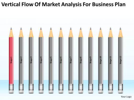Flow Of Market Analysis For Business Plan Ppt Outline PowerPoint Slides