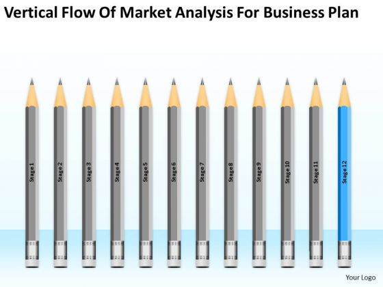 Flow Of Market Analysis For Business Plan Ppt Sample Format PowerPoint Slides