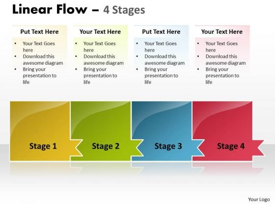 Flow Ppt Background Horizontal Missing Model Of 4 Concepts Time Management PowerPoint 1 Design