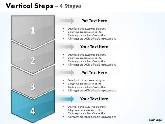 Flow Ppt Background Vertical Practice The PowerPoint Macro Steps 4 1 5 Image