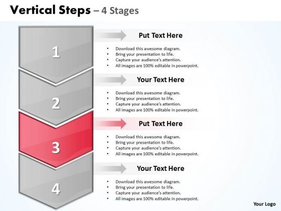 Flow Ppt Background Vertical Practice The PowerPoint Macro Steps 4 1 Image