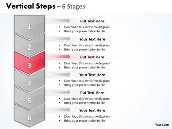 Flow Ppt Template 7x7 Rule For PowerPoint Steps Working With Slide Numbers 6 1 4 Graphic