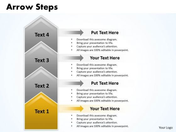 Flow Ppt Theme Arrow PowerPoint Slide Numbers 4 Stages Business Strategy 2 Design