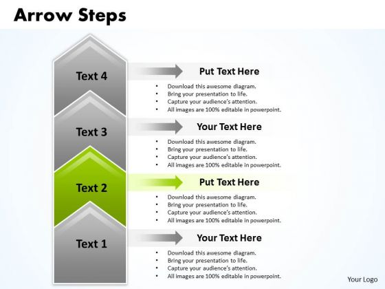 Flow Ppt Theme Arrow PowerPoint Slide Numbers 4 Stages Business Strategy 3 Design
