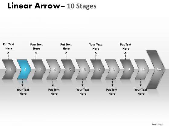 Flow Ppt Theme Homogenuous Description Of 10 Create PowerPoint Macro 3 Graphic