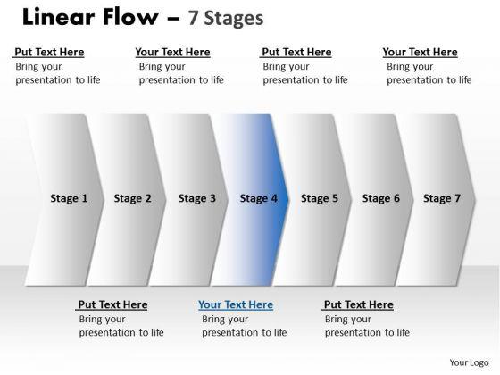 Flow Ppt Theme Parellel 415 PowerPoint Charts Of 7 Practice Macro Steps Image
