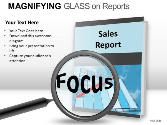 Focus Sales Report PowerPoint Slides And Ppt Template Diagrams