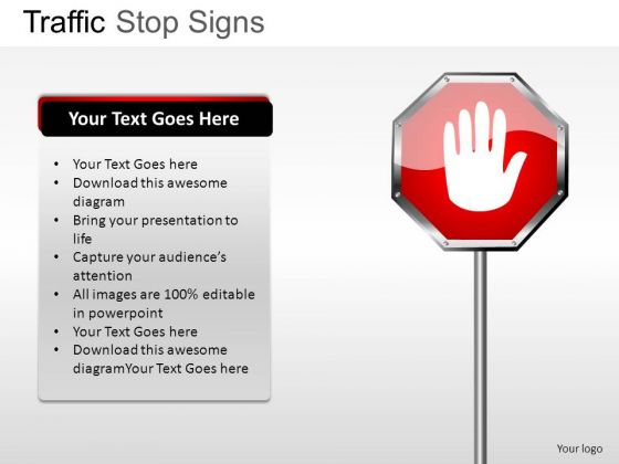 Focus Traffic Stop PowerPoint Slides And Ppt Diagram Templates