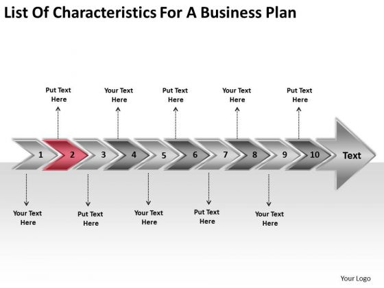 For A World Business PowerPoint Templates Plan Flow Chart Examples