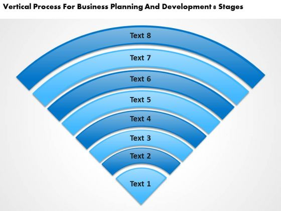For Business Planning And Development 8 Stages PowerPoint Templates