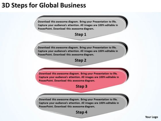 For Global Business PowerPoint Templates Download Pizza Plan Slides