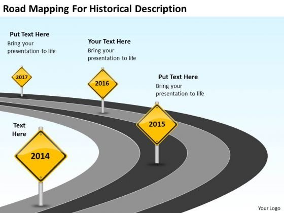 For Historical Descriptionn Ppt Downloadable Business Plan Template PowerPoint Slides