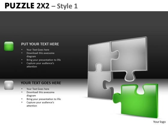Found The Solution Puzzle PowerPoint Slides And Editable Ppt Slides
