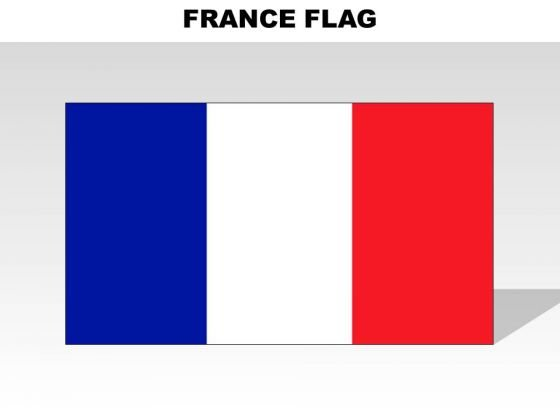 France Country PowerPoint Flags