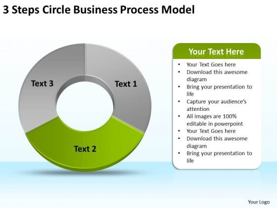 Free Business PowerPoint Templates Process Model The Planning Slides