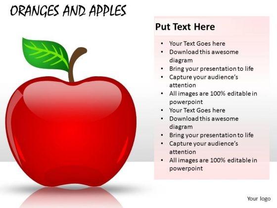 Fruit Apple PowerPoint Clipart Slides
