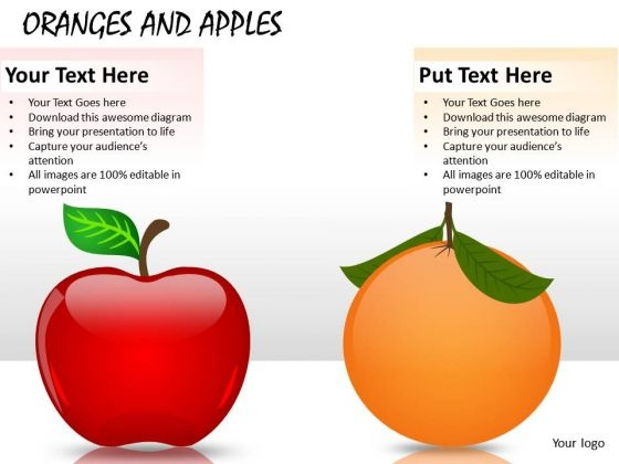 Fruit Oranges And Apples PowerPoint Slides And Ppt Diagram Templates