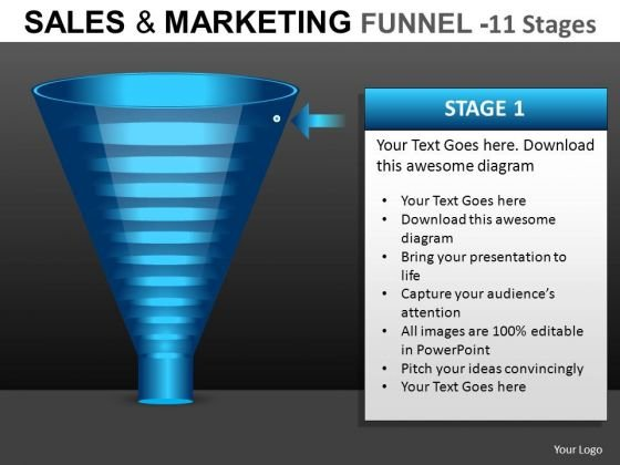 Funnel PowerPoint Diagrams