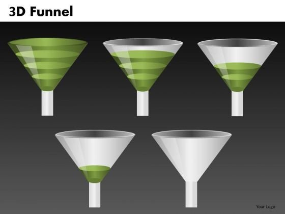 Funnel Shapes For PowerPoint Slides Ppt Templates