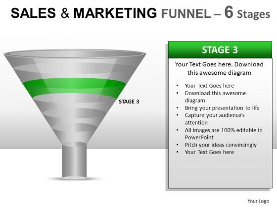 Funnel Showing Sales Process PowerPoint Slides And Ppt Diagram Templates