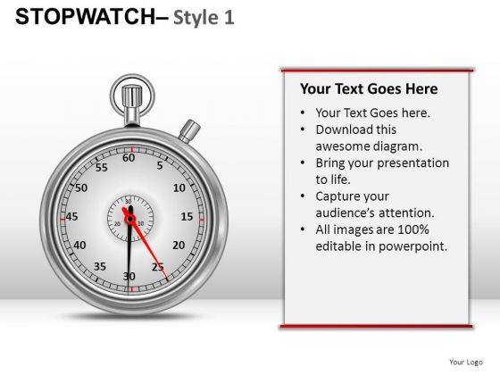 Future Stopwatch 1 PowerPoint Slides And Ppt Diagram Templates