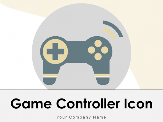 Game Controller Icon Experience Controller Icon Including Television Ppt PowerPoint Presentation Complete Deck