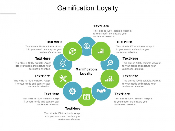 Gamification Loyalty Ppt PowerPoint Presentation Infographic Template Display Cpb