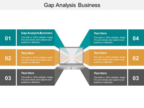 Gap Analysis Business Ppt PowerPoint Presentation Model Tips Cpb