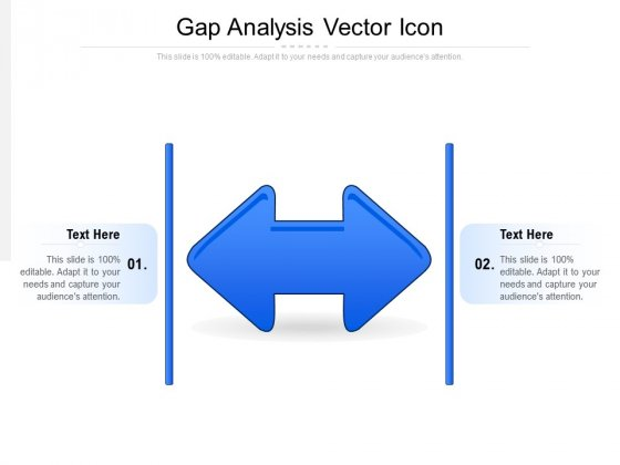 Gap Analysis Vector Icon Ppt PowerPoint Presentation Infographics Professional PDF