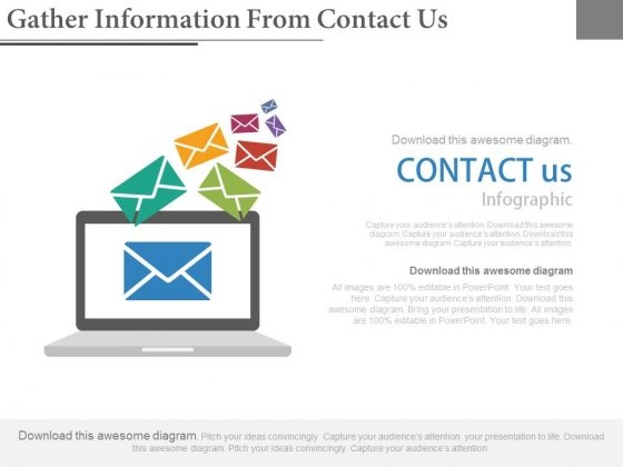 Gather Information From Contact Us Ppt Slides