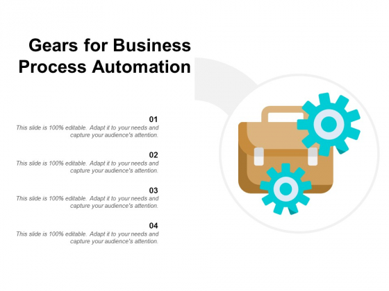 Gears For Business Process Automation Ppt PowerPoint Presentation Ideas Graphic Images