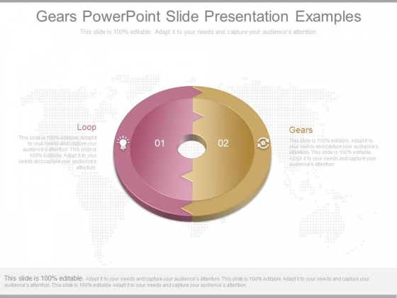 Gears Powerpoint Slide Presentation Examples